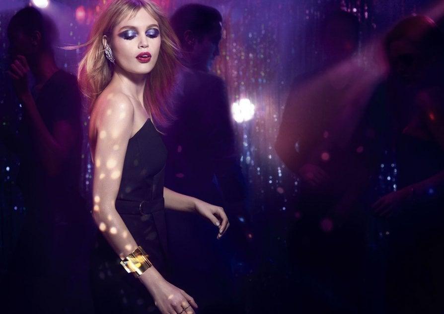 Il visual della collezione Night 54 di Yves Saint Laurent