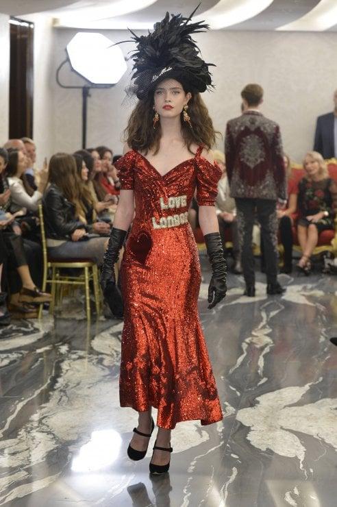 Dolce&Gabbana a Londra: la sfilata delle Alte Sartorialità
