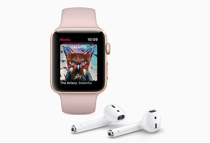 Apple Watch Series 3 e AirPods