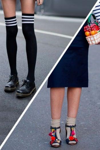 Calzini o parigine?