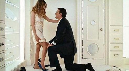 Le scarpe col tacco di Carrie in Sex and the City in versione low cost