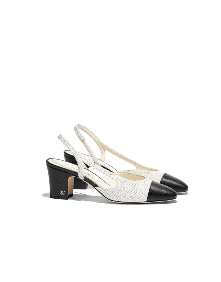 Scarpe con tacco medio di Chanel