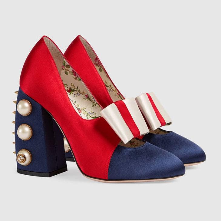 Scarpe con tacco di Gucci