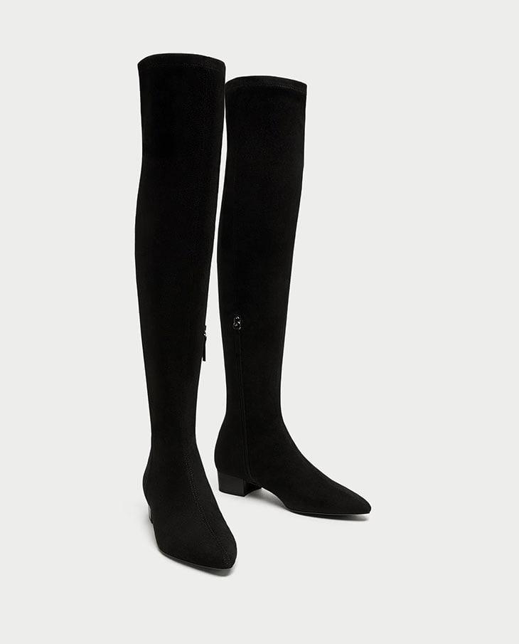 Stivali rasoterra di Zara