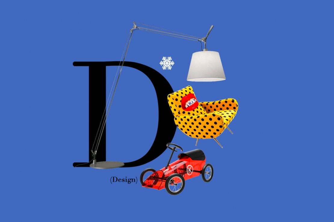 D il design da regalare a natale moda repubblica for Oggetti di design da regalare