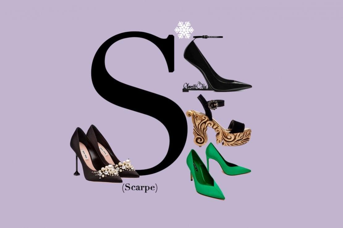 S come scarpe: tacchi, stivali e stiletto. Le calzature più belle da regalare
