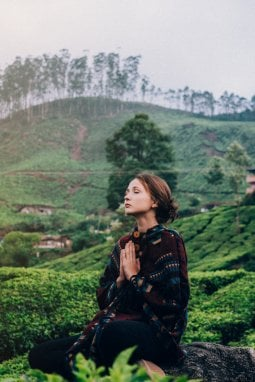 Yoga a Kerala, India del Sud