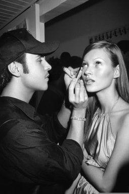 François Nars con Kate Moss