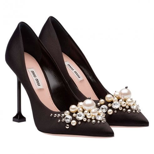 20 scarpe nere con tacco alto dai 39 euro in su