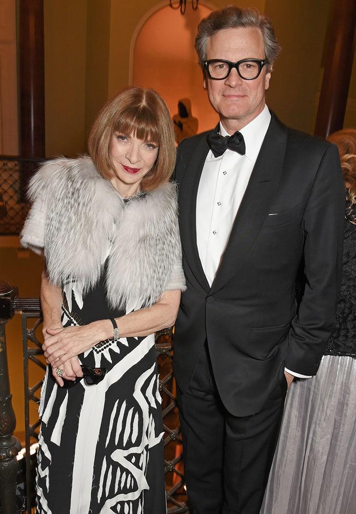 Anna Wintour e Colin Firth