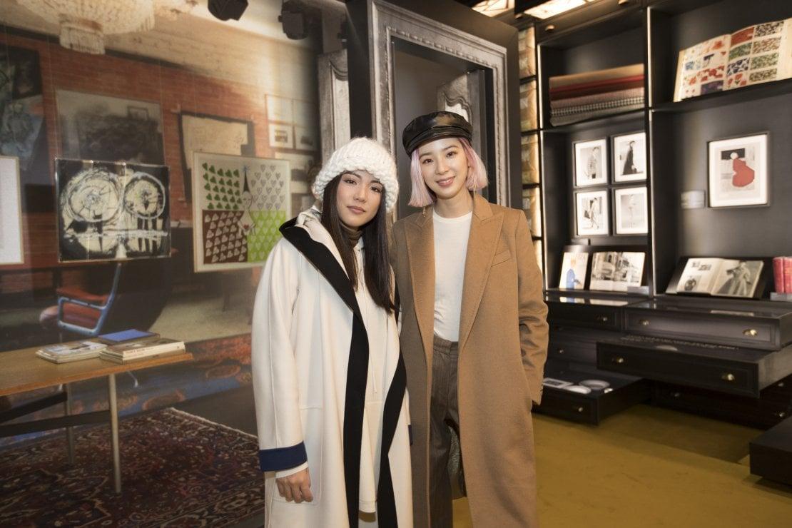 Le modelle e influencer Yoyo Cao e Irene Kim
