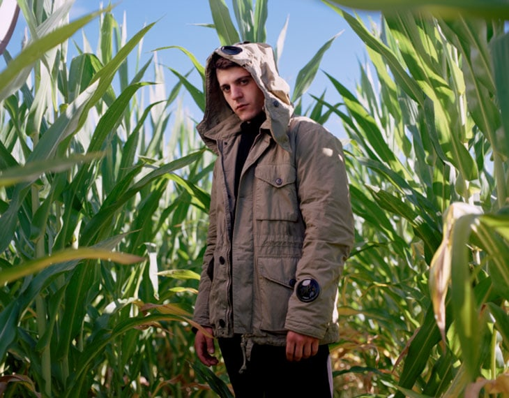 Rkomi, alias Mirko Martorana, milanese classe '94. In tour con l'album Io in terra (Thaurus).