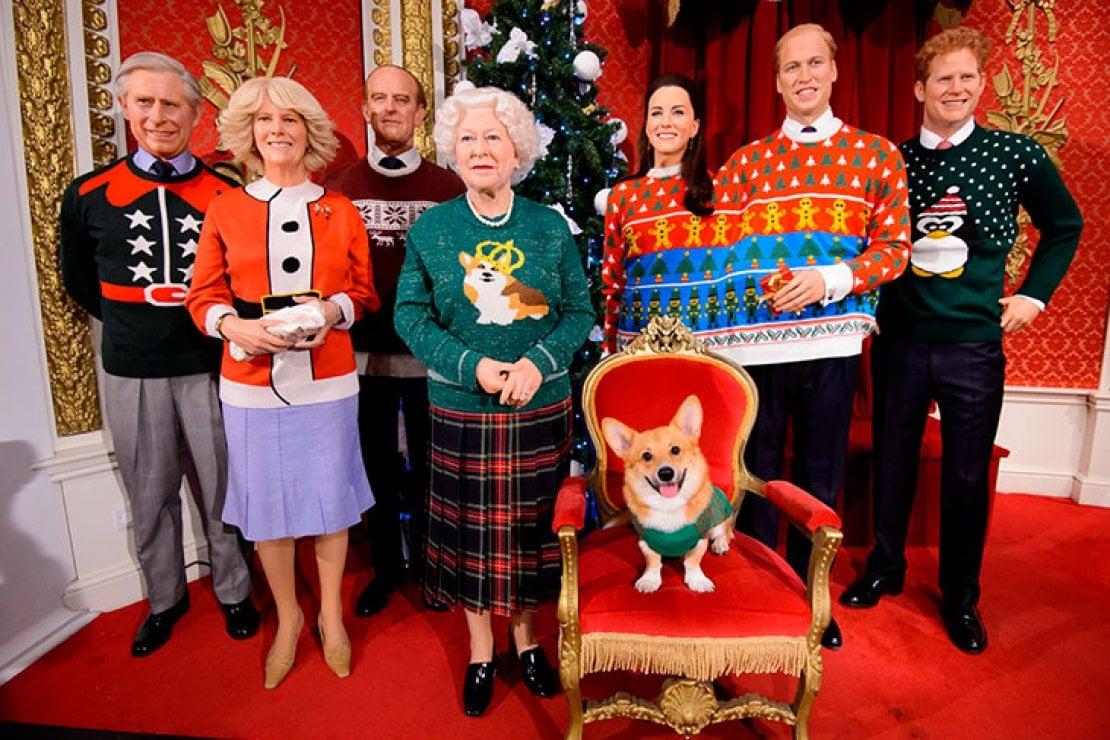 Natale Reale.La Famiglia Reale Inglese Posa Con I Maglioni Natalizi