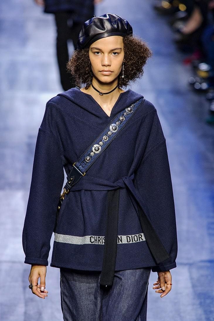 Un look di Dior