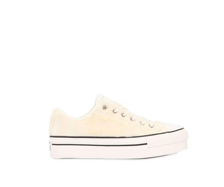 Sneakers con pelo sopra, Converse