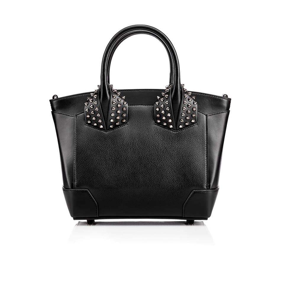 Shopper di pelle con borchie, Louboutin