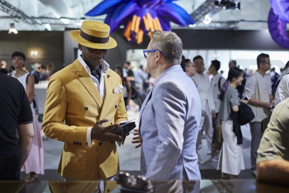 Numeri positivi e novità: a Firenze va in scena la moda uomo