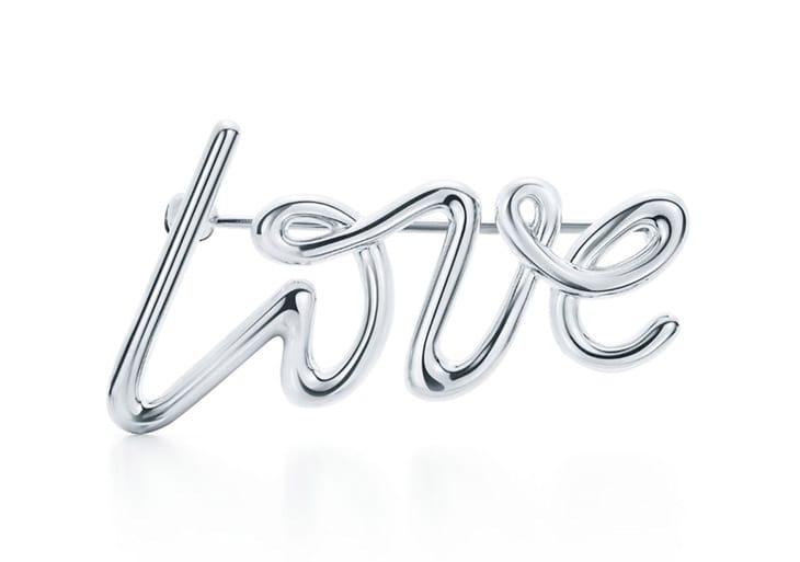Spilla con scritta, Tiffany&co;
