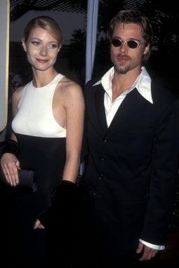 Gwyneth Paltrow e Brad Pitt ai tempi del loro amore
