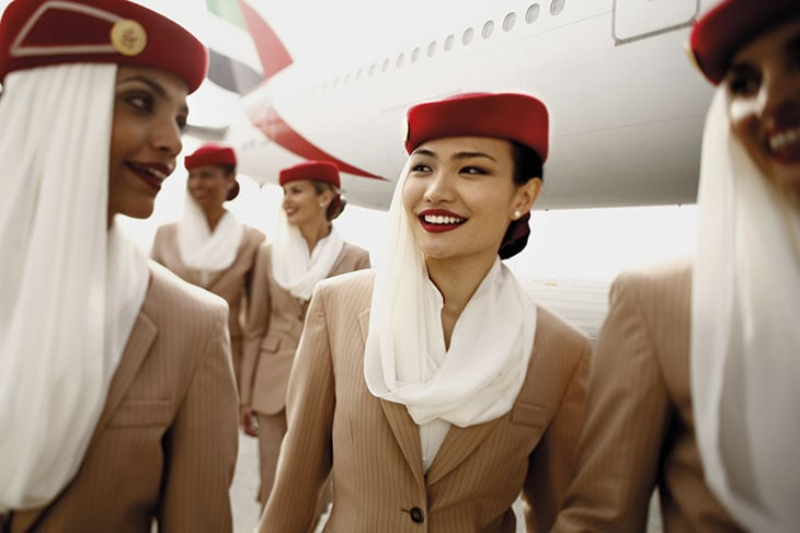 Le uniformi Emirates