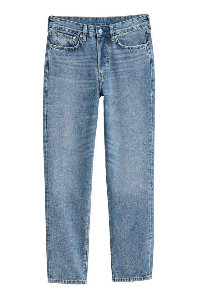 Jeans chiari, H&M;