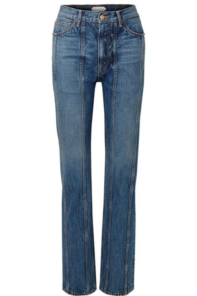 Jeans con cuciture, Tre in vendita su Net a porter