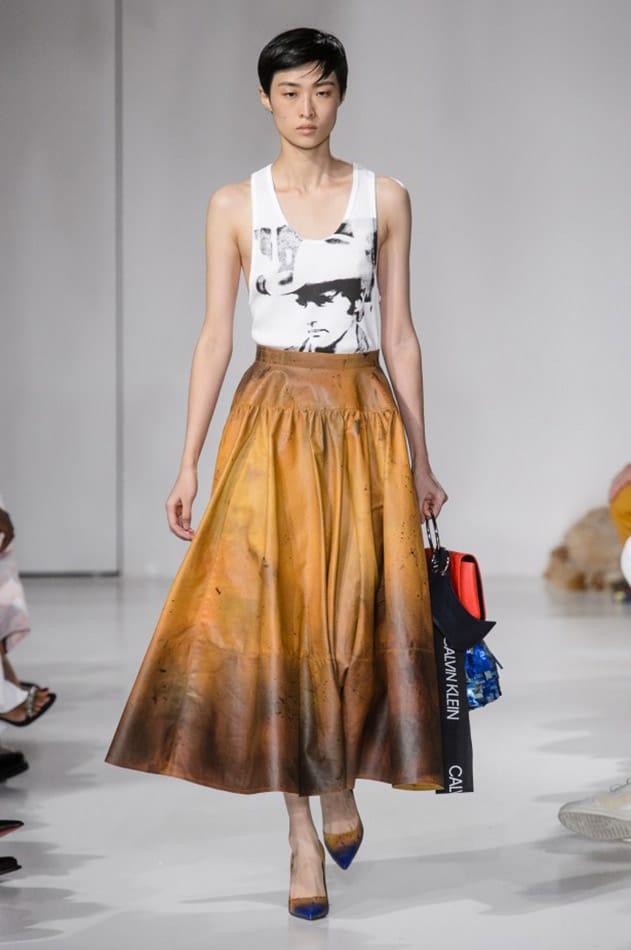 T shirt con stampa, Calvin Klein