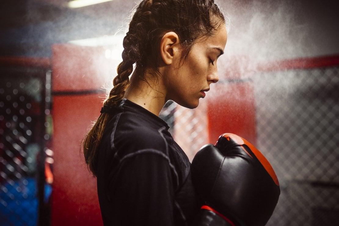 routine di boxe brucia grassi