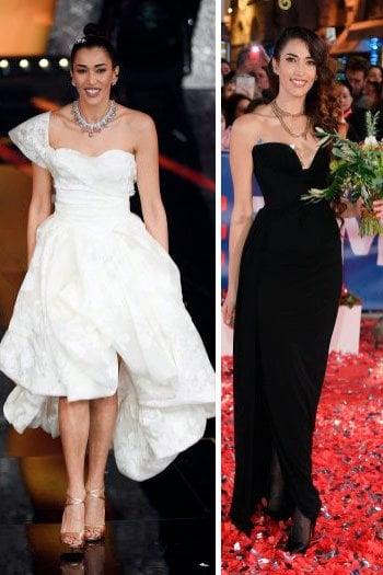 Nina Zilli: meglio in abito bianco o nero?
