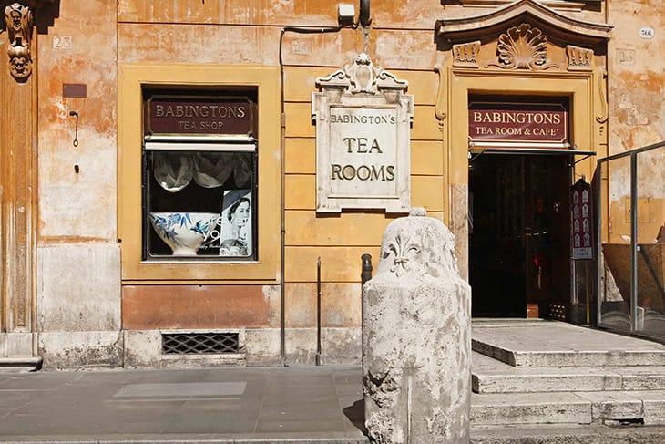 Babingtons sala da tè