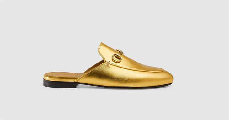 Scarpe dorate, Gucci