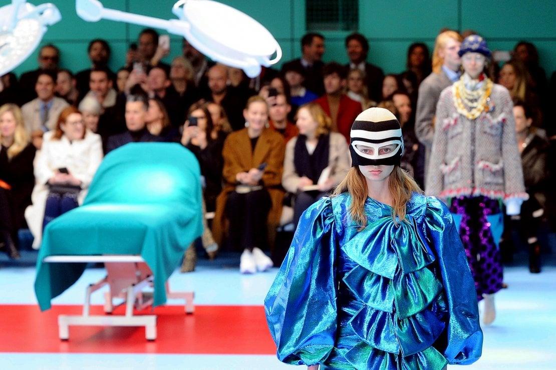 Teste mozzate e sale operatorie: l'inferno dantesco di Gucci