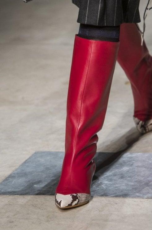 newest f24f9 a39f1 Stivali e ankle boots: texture fantasia, colore e azzardi ...