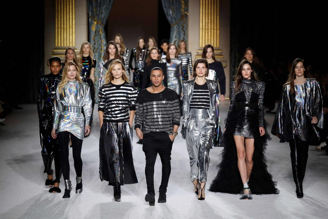 Balmain scuote la fashion week con la sua moda anticonformista