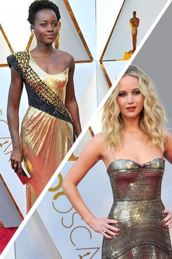 Quale abito preferisci? Jennifer Lawrence vs Lupita Nyong'o
