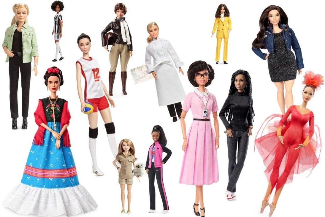 Barbie ispirate a donne di ieri e di oggi. Da Frida Kahlo alla calciatrice Sara Gama