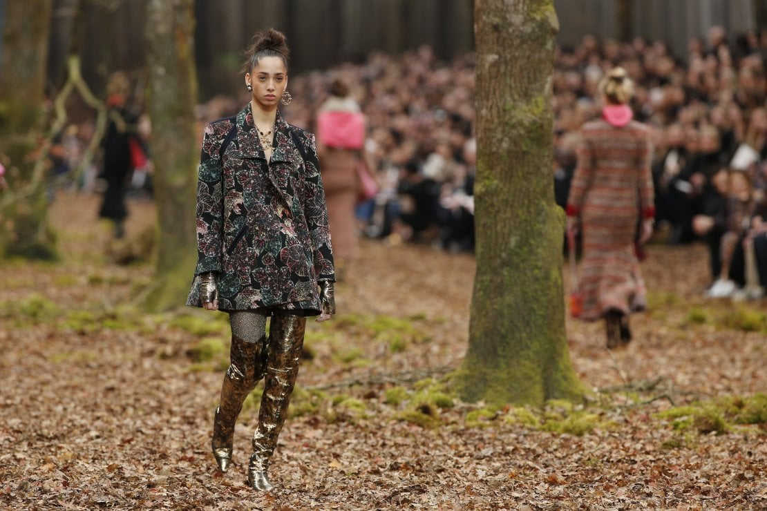 Chanel: la bella e la foresta