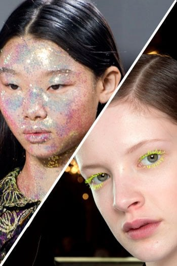 Quale make up preferisci?  Giallo limone o all over glitter