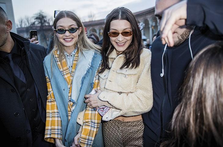Le sorelle Gigi e Bella Hadid.