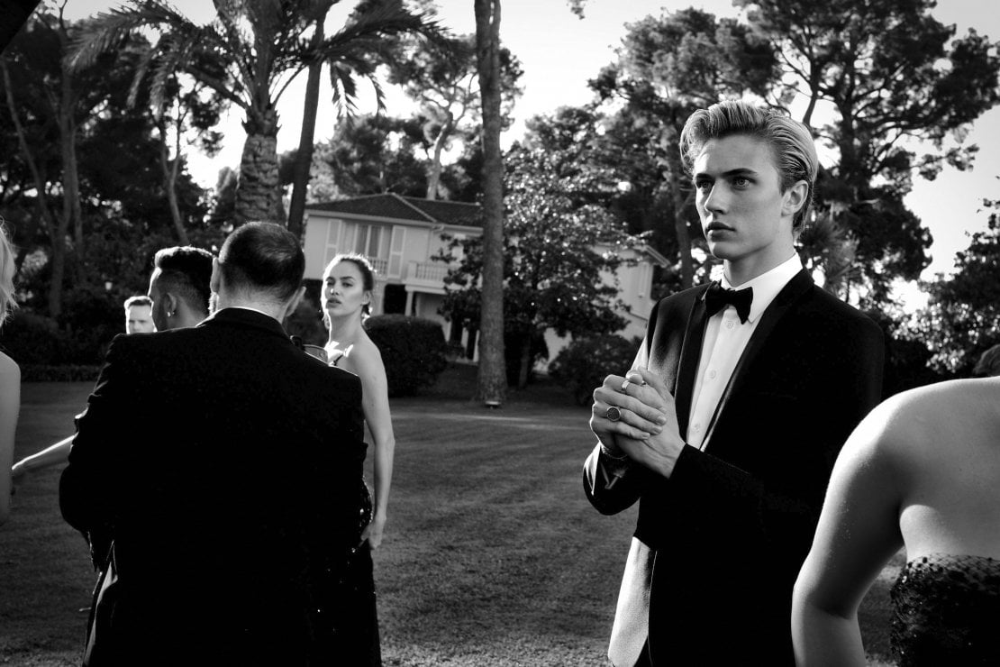 Il modello Lucky Blue Smith