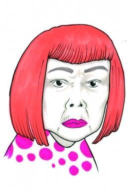 Yayoi Kusama, artista