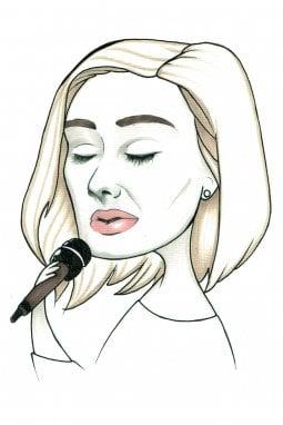 Adele, cantante