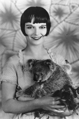 L'attrice Louise Brooks
