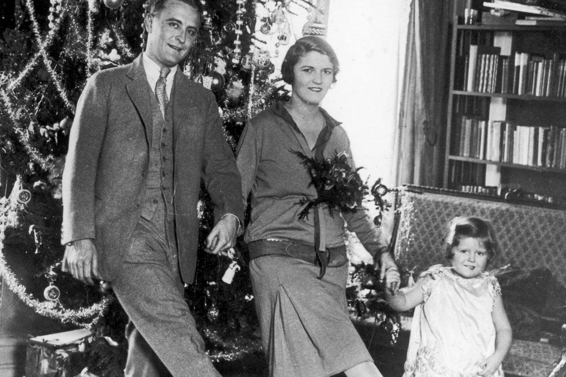 Francis Scott Fitzgerald, Zelda e la figlia Frances detta Scottie