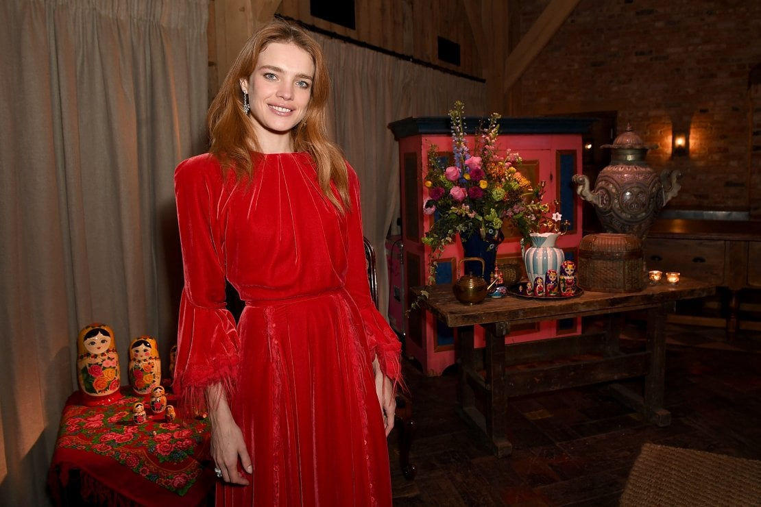 Natalia Vodianova alla conferenza Voices di Business of Fashion