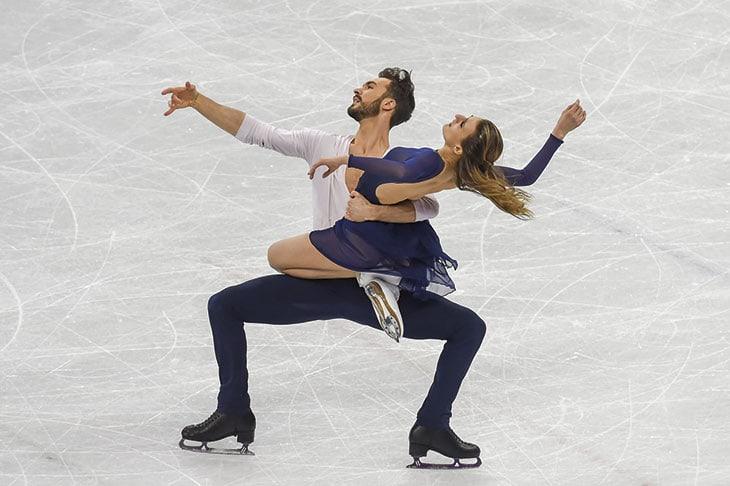 Gabriella Papadakis e Guillaume Cizeron.