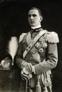Umberto I con l'uniforme militare