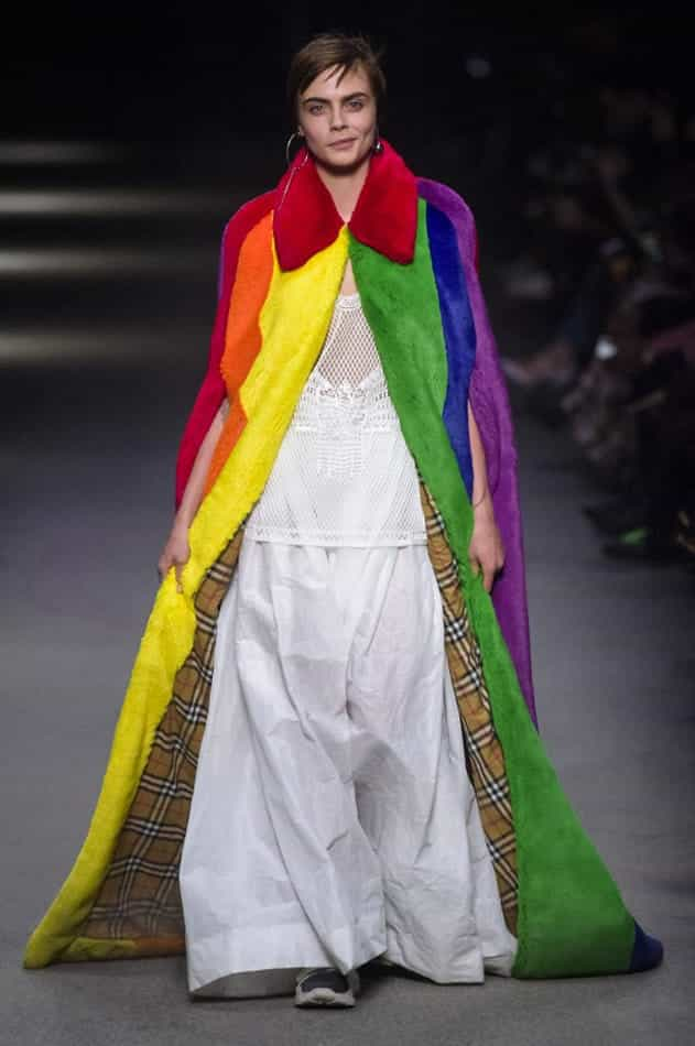 Cappotto rainbow, Burberry