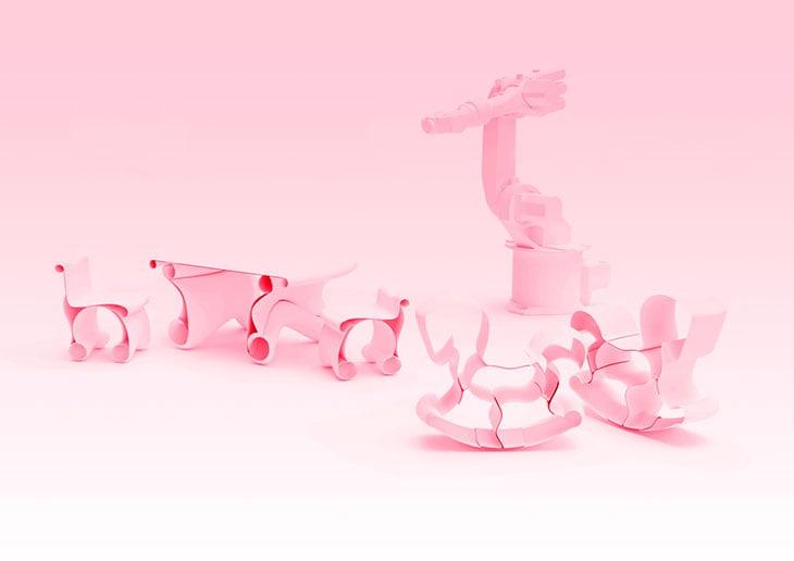 3D Printed Playground di Caracol Studio