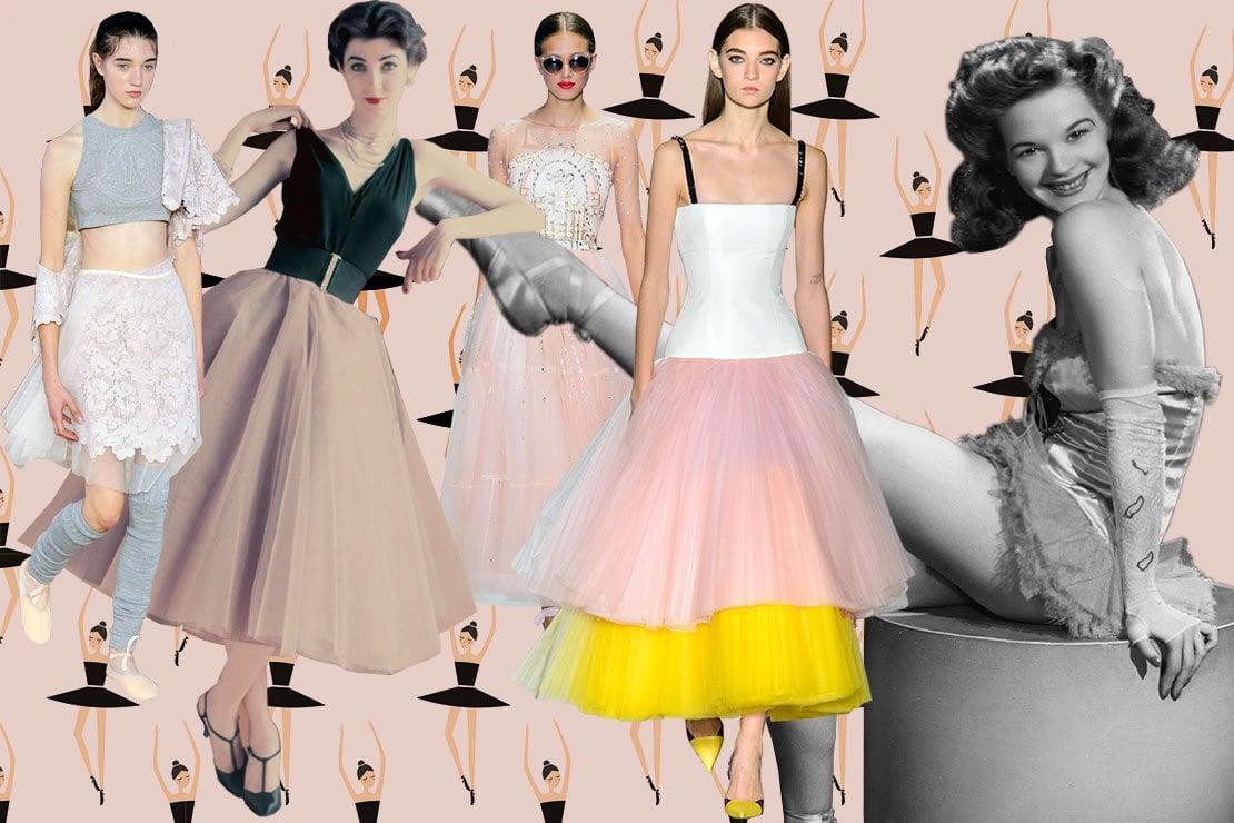 Da sinistra. Moncler Gamme Rouge - modella vintage - Temperley London - Carolina Herrera - foto vintage
